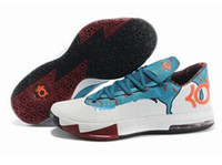 Hight Cut Men Spring and Fall New Durable Mens Basketball Shoes New Kevin Durant VI KD 6 Mens Basketball Shoes Athletic Kd6 Sneakers Size 40-46 KD Men Sports Shoes 41-46