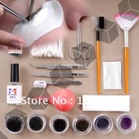 Wholesale Professional Fake False Eyelash Eye Lashes Extension Kit Set Make Up Cosmetic