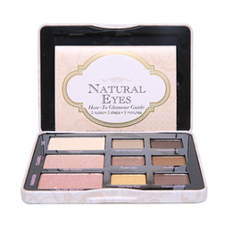 Wholesale New Fashion Professional Portable Color Matte Nude Natural Eyeshadow Palette Long lasting Natural Eye Shadow