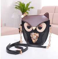 animal print handbags - women handbag new fashion women leather handbags cartoon bag owl fox women shoulder bags women messenger bags totes bags