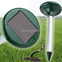 Wholesale Best Selling Solar Power Ultrasonic Gopher Mole Snake Mouse Pest Repeller Control Garden Yard B003 SV004340