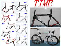 Wholesale Time RXRS Carbon Frame Road Bike Frame fork headset seatpost clamp TIME Frame road bike frame time frameset EMS