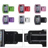 Wholesale Sports Running Jogging Gym Armband Arm Band Case Cover Holder for iPhone S G