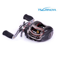 Yes Lure Reel Trulinoya Hot Sale! Trulinoya DW1000 11BB 6.3:1 Right Hand Bait Casting Fishing Reel Reels 10+1 Ball Bearings+One-way Clutch Black