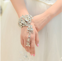 Wholesale New Arrival Jewelry Wedding Bridal Bracelets Shinny Rhinestone Crystal Fashion Prom Evening Formal Bracelets Cheap in Stock