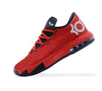 Hight Cut Men Spring and Fall MVP RED Best Mens Basketball Shoe kd 6 basketball shoes for men sneaker kevin durant MVP shoes size 41-46 Rose,ice cream,aunt pearl,liger