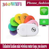360 Mini Wifi    Wholesale - 360 Mini Wifi Router Portable Chinese brand USB 2.0 Built-in antenna Notebook .Mobile Phone