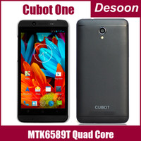 Quad Core Android Lenovo In Stock Cubot One MTK6589T Quad Core 1.5GHz Android 4.2 Smart Phone 1GB RAM 8GB ROM 4.7 inch IPS 1280*720 Camera 13.0MP Laura