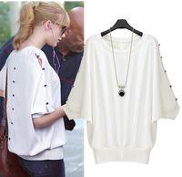 Cheap Women summer shirt Best Round Elegant Style women tshirts