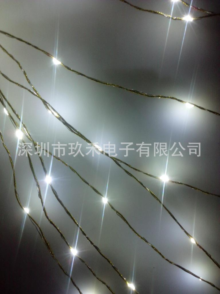 Led Decorative Light Strings Of Copper  Silver Onions Rope