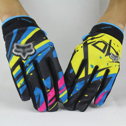 Wholesale Motorcycle Gloves Dirt Bike Cycling Full Finger Gloves MTB Bicycle Gloves Mountain Road Bike Racing Gloves Outdoor Sports