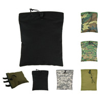 airsoft military gear - 1000D Gear Compact Outdoor Military Airsoft Molle Tactical Magazine DUMP Drop Pouch with Molle Belt For Hunting Bag