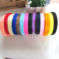 Wholesale 50 YARD Roll Roll Gauze Ribbon mm Wide Trim Strings for Gift Box Wedding Decoration