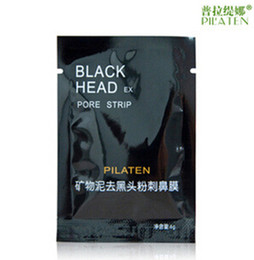 Wholesale 4000pcs PILATEN Tearing Style Deep Cleansing Purifying Peel off Blackhead Close Pores Face Mask Remove Black Head Facial Mask Nose Care