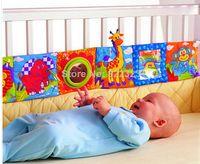 lit lamaze monde de la petite enfance lapin animale livre en tissu Wai / bébé / éducation jouet freeshipping