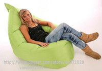 Wholesale Giant Outdoor bean bag Fern Green Versitle function beanbags home furniture