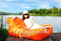 extra wide and large lounges pool - float on water relax on land in function Giant capacity bean bag lounge outdoor beanbag water floats POOL SIDE ORANGE