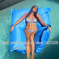 Wholesale THE BIG BAG GIANT sky blue SWIMMING POOL BEAN BAG cover SHELL FLOAT TOY entertainment ENJOY water sports
