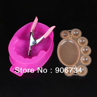 Nail Art Stamping Machine Nail Art Equipment JUNE Hot Selling DIY Canes Rods Nail Art Equipment Decorations With A Scissors,Bear Paw,Soak Water Bowls