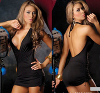 Wholesale Girls erotic sexy lingerie club wear negligee Exotic dresses sleepwear large size nightclub dress Sauna suits Pipe dance clothes
