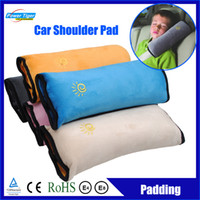 Seat Belts & Padding Yes Powertiger Wholesale 16Pcs lot Child Baby Car Seat Belt Shoulder Pad Car Seat Belt Cover Cushion Shoulder Harness Pad Soft Sleep Pillow