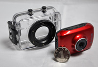 Wholesale 2 P HD waterproof action video camera camcorder with helmet amp bike mounting Car DVR Recorder