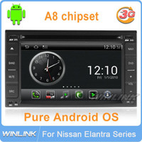 In-Dash Yes Winlink For Hyundai Santa Fe Tucson Sonata Elantra Getz Matrix Tiburon I20 Lavita Pure Android DVD Car GPS 3G WiFi HD Navigation Audio