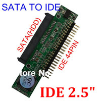 cd ide converter adapter - 5pcs Sata to IDE quot Sata Female to inch HDD Male pin Hard Drive ATA HDD CD DVD RW ROM Serial Adapter Converter