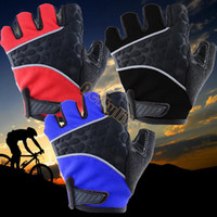 Wholesale 2014 New Hot Popular Men motorcycle Half A Racing Cyclist Cycling Gloves Riding Outdoor Half Gloves