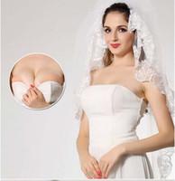 EMS Free Shipping Sexy Invisible silicone free bra freebra T...