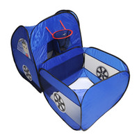 Cheap Fun Blue Play Tent Truck Basket Ball toy For Kid Children Baby House Outdoor toy sports toy freeshiping