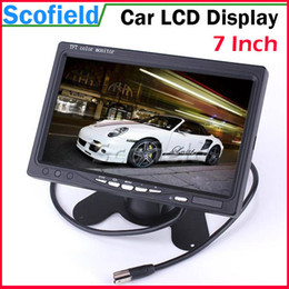 Wholesale 7 Inch TFT Color Video Input RGB LCD Display Monitor Car DVD Players LCD Monitor for Car Reverse Camera