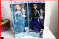 Wholesale EMS Free Ship New Girls Baby Frozen Figure Play Set Elsa Classic Toys Children Frozen Toys Dolls Melee
