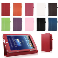 Folding Folio Case asus cheap - Folio PU Leather Case Cover Protective Skin Stand for Asus Memo Pad ME180A inch HK Free Drop Shipping Cheap