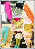 Wholesale Baby princess children s stockings girls leggings kids tights for girl velvet long socks autumn pants black orange colors