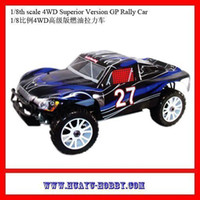 Wholesale rc model car th scale WD cxp nitro engine Superior Version Rally Car HSP RTR model truck price Dropship407