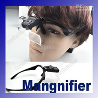Wholesale New x x x x x Eyeglasses Magnifier LED Magnifying High Quality