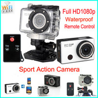 action ir cameras - Gopro Style Action Sport waterproof Camera with Wifi Support Control by Phone Tablet P Full HD Sport Action Camera IR Remote Control