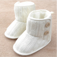 Winter baby s boots - New Beautiful Baby boots children princess shoes Baby girl s First Walkers Shoes Boys and Girls Boots Knit Shoes Children s S