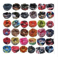 Printed acrylic weave - stylish seamless magic ride magic anti UV bandana headband scarf hip hop multifunctional bandana Retail wholesales bandanas buff