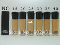 Wholesale Brand cosmetic make up matchmaster mineral foundation spf15 ml liquid foundation drop shipping