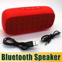 2 Universal HiFi Hi Fi A21 Portable stereo bluetooth speaker mini super bass outdoor subwoofer Wireless mp3 loudspeakers boombox & FM radio for iphone hk pos