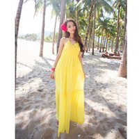 Casual Dresses V_Neck Asymmetrical 2014 Hot Sale New Sexy Women's Bohemian V Collar White Beach Maxi Dress