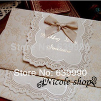 Wholesale elegant romantic wedding invitation card wedding love wedding supplies essential Wedding essential
