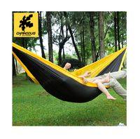 210T Nylon Taffeta 225 X 100cm  CHANODUG Canvas 225 X 100cm Outdoor Hammock Single Person Camping Hammock Ultralight Garden Swing-9002
