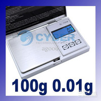 Scales Scales  Wholesale - Jewelry Weight Mini 100g x 0.01 Jewelry Gram Digital Balance Weight Scale #1443