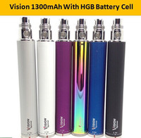 Cheap vision electronic battery electronic cigarette 650mah 900mah 1100mah 1300mah vision 2 spinner large capacity for vivi nova V2 vision twist