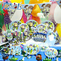 Wholesale 2014 New Birthday Party Decoration Set Toy Story Theme Party Christmas Party Supplies