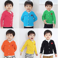 Wholesale 2014 children conditioned shirt cartoon suit boys clothes sets coat sport suit children s candy colored cardigan