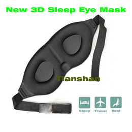 Wholesale D Eyeshade Eyepatch Blindfolder Blinder Winker Sleep Mask Eyes Patches Cover For Sleeping Travel Relax Nap Rest